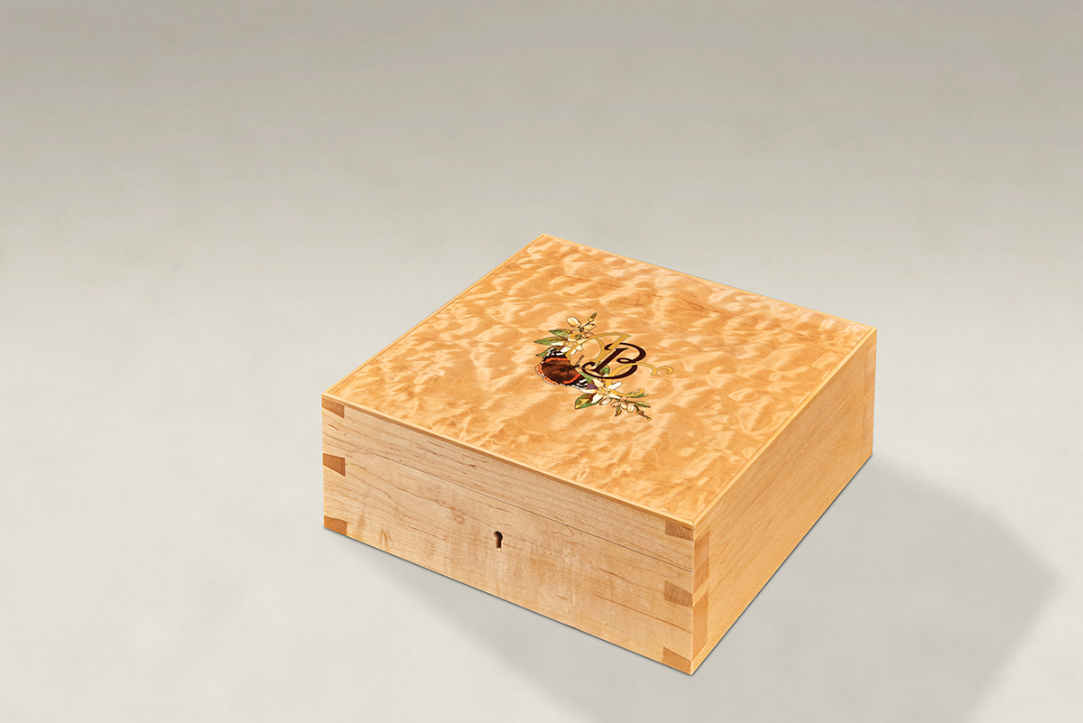 Distinguish Your Quilted Maple Dovetail Memory Boxes - Medium