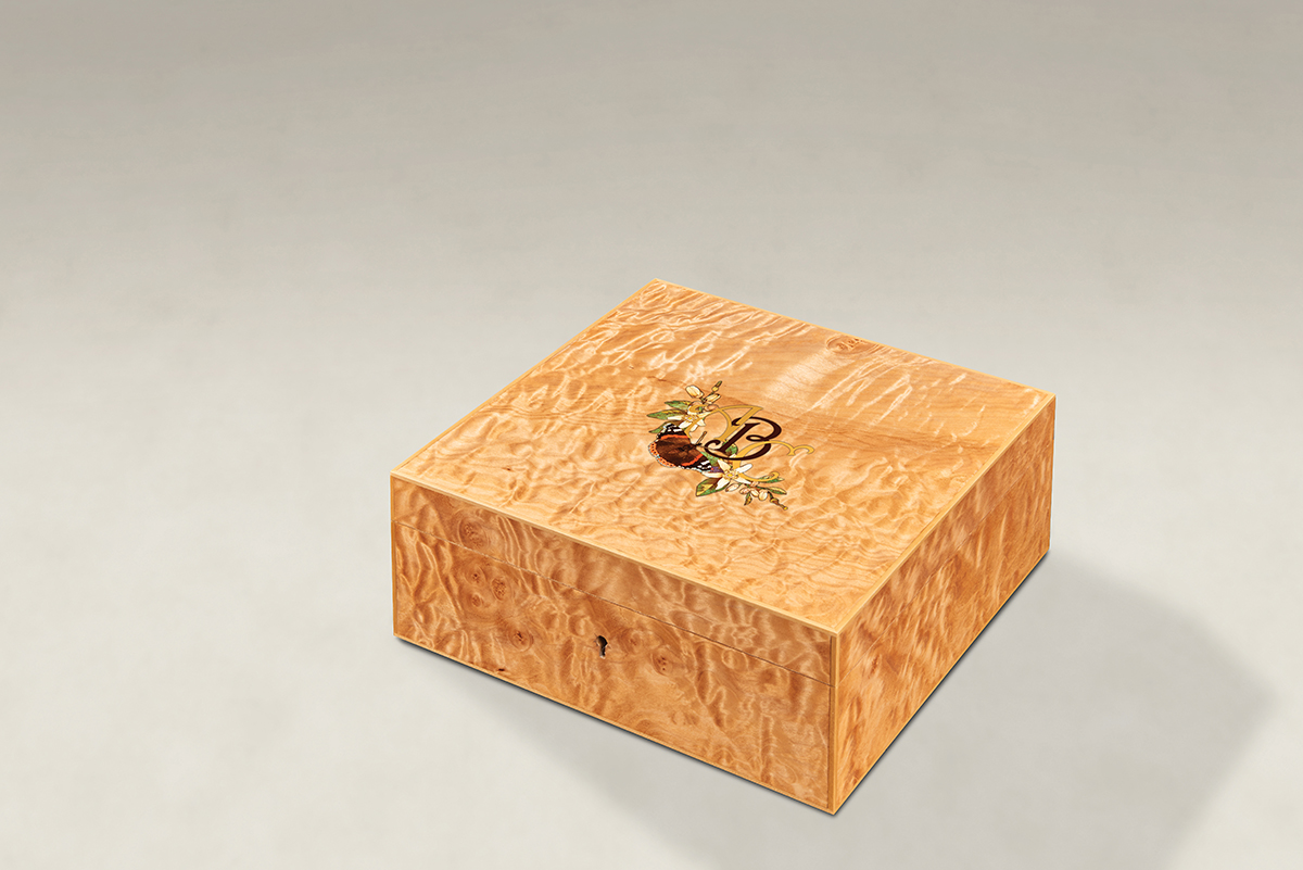 Distinguish Your Quilted Maple Strung Memory Boxes - Medium