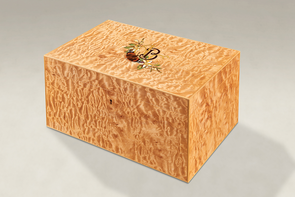 Distinguish Your Quilted Maple Strung Memory Boxes - Large