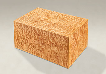 Quilted Maple Strung Memory Boxes - Large