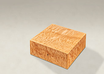 Quilted Maple Strung Memory Boxes - Medium