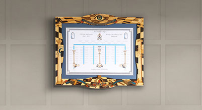Ceremonial Picture Frame