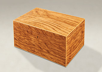 Tiger Oak Memory Boxes - Large