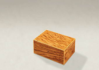 Tiger Oak Memory Boxes - Small