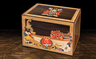 The Marquetry Gloriana Box