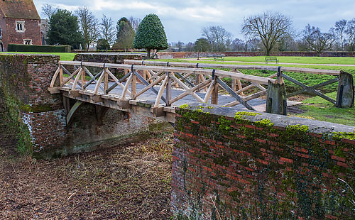Tattershall Castle Moat Bridge