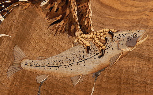 Wheathills take micro-marquetry to the extreme