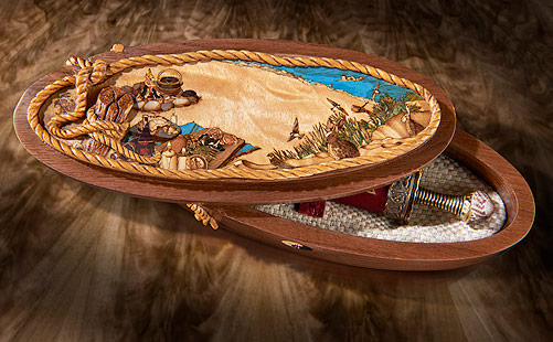 Marquetry & Carving – A Match Made in Heaven